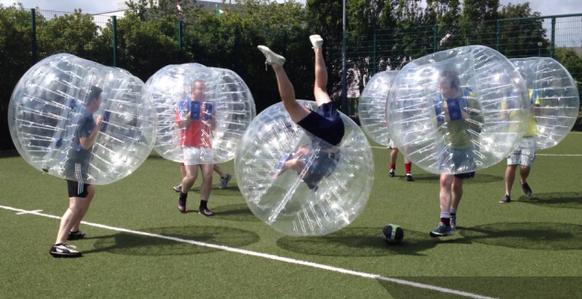 Bubble Football Hire Northamptonshire